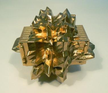 Catagram 1, 3D print, 14.5 × 13.3 × 12.3 cm, 2012