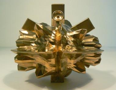 Catagram 2, 3D print, 14.4 x 14.7 x 12.9 cm, 2012