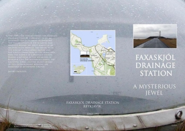 Faxaskjól Drainage Station, A mysterious Jewel, 2007.chure